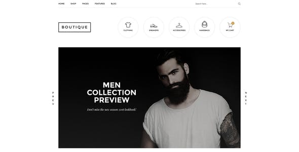 Boutique - Kute Fashion WooCommerce Theme ( RTL Supported )