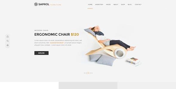 Saprol - Multi-Purpose PSD Template