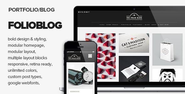 FolioBlog - Creative & Responsive Theme For Artists & Bloggers - Miscellaneous WordPress