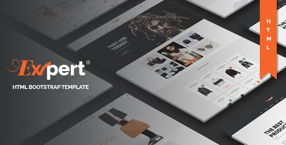 Expert - Fashion Furniture Store HTML Template - Shopping Retail