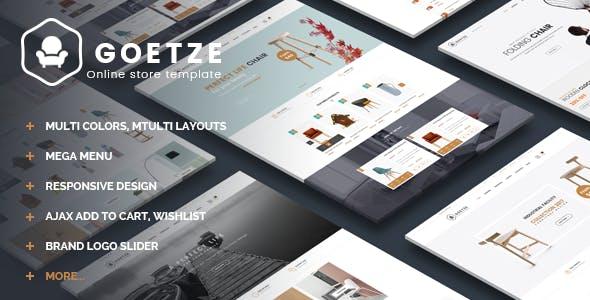 Goetze - Furniture Shopify Theme