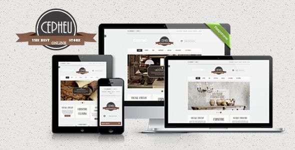Cepheu - Furniture Shop HTML Template - Shopping Retail