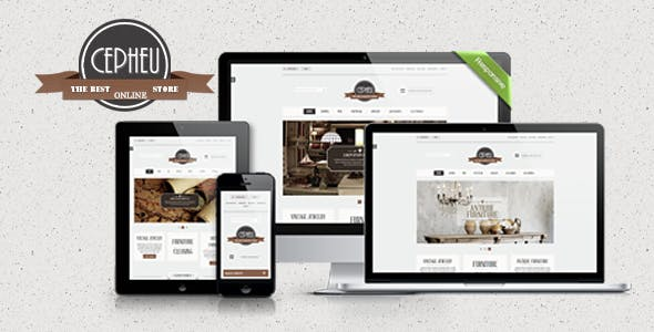 Cepheu - Furniture Shop HTML Template