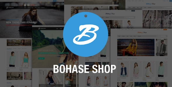 Bohase Fashion Store - Responsive Magento Theme - Shopping Magento