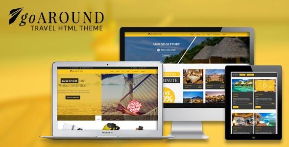 goAround - Travel Theme Responsive