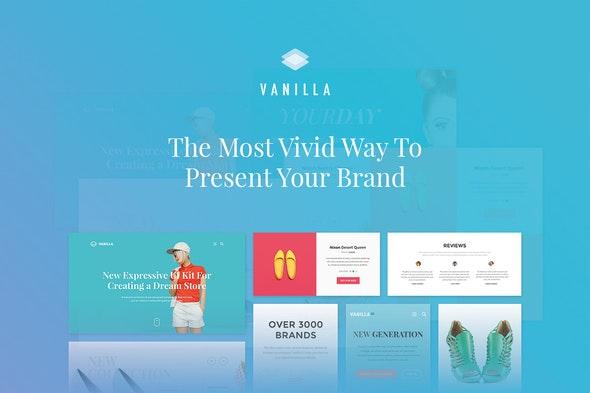Vanilla UI Kit - Sketch Templates