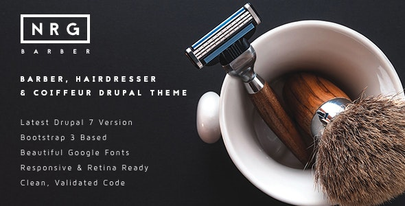 NRGbarber - Hairdressers, Barbershops & Coiffeurs - Health & Beauty Retail