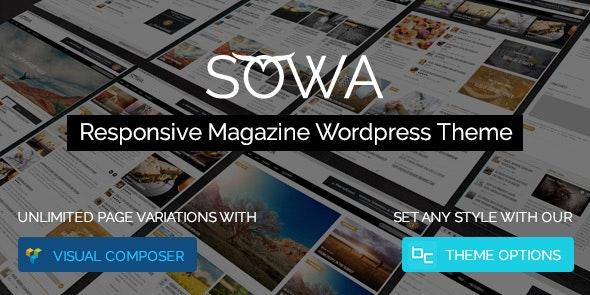 Sowa - Responsive Magazine WordPress Theme - News / Editorial Blog / Magazine