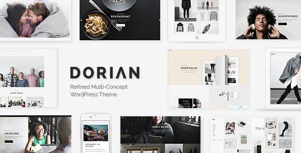 Dorian - Refined Multi-Concept WordPress Theme