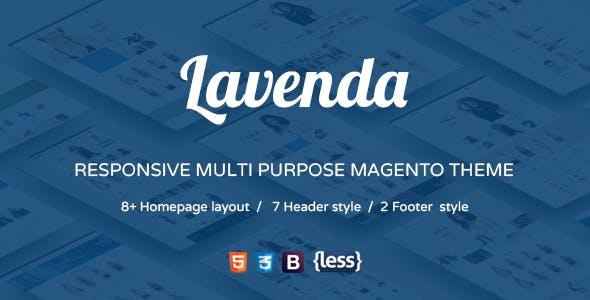 SNS Lavenda - Responsive Magento Theme