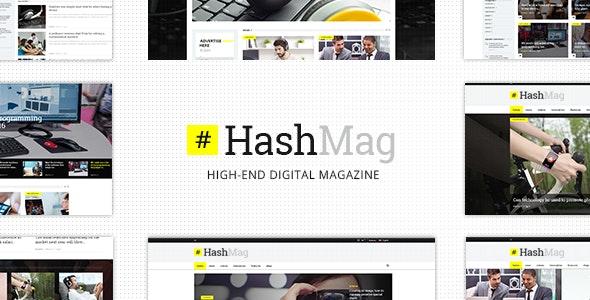 HashMag - Magazine & News Theme - News / Editorial Blog / Magazine