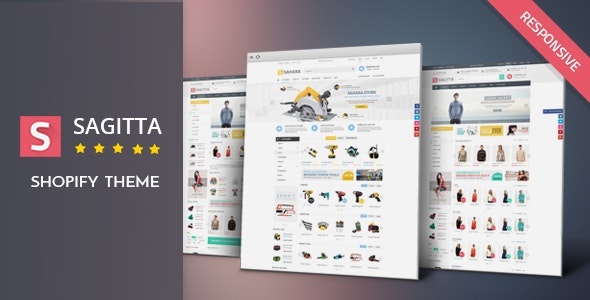Sagitta - Fashion & Tools Responsive Shopify Theme - Shopping Shopify