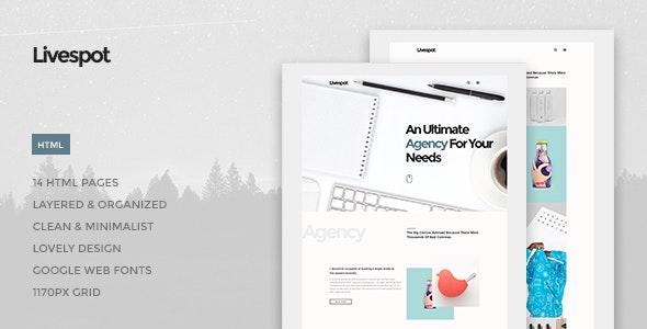 Livespot - Creative Agency HTML Theme - Site Templates