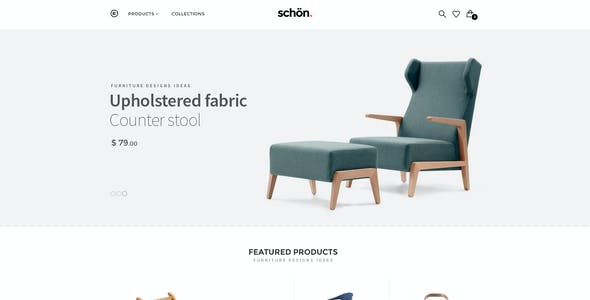 schön. | eCommerce .PSD Template