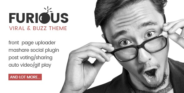 Furious - Viral & Buzz WordPress Theme - Entertainment WordPress