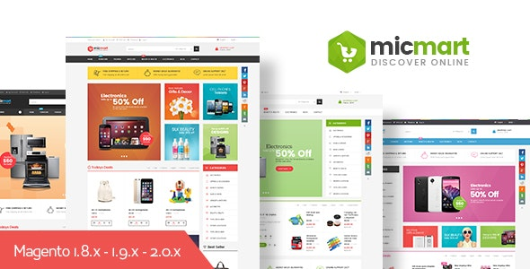 Ves Micmart - Responsive Multipurpose Magento 2 & 1 Theme - Shopping Magento