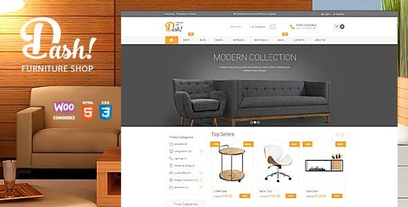 Dash - Handmade Furniture Marketplace Theme