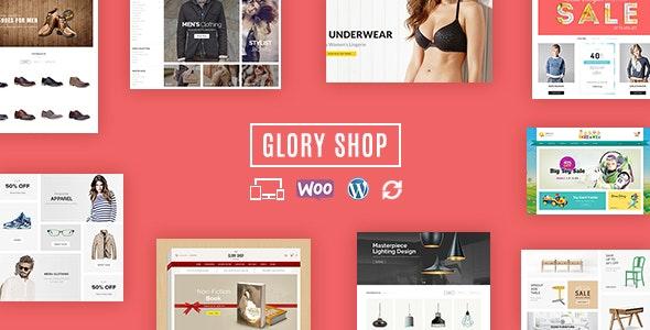 Glory Shop - Multipurpose WooCommerce Theme - WooCommerce eCommerce