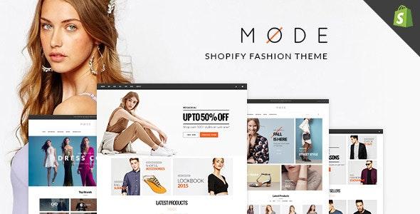 MODE - Fashion Shopify Themes - Fashion Shopify