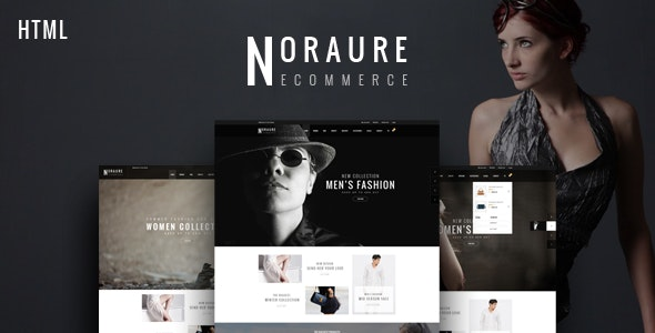 Noraure - Fashion HTML Template - Fashion Retail