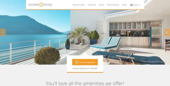 Accommodation Landing Page