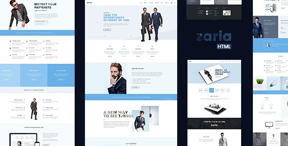 Zaria – Business Consulting HTML5 & CSS3 Template - Business Corporate
