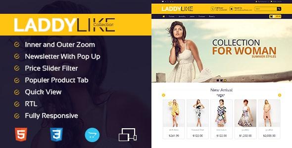 LaddyLike - Responsive Opencart Theme - Fashion OpenCart