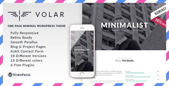 Volar - Responsive & Multipurpose WordPress Theme