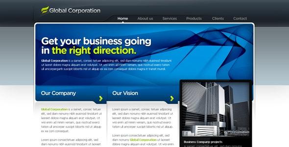 Business Template #07 - Corporate Photoshop