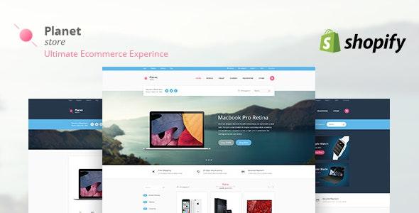 Planet Tech Store - Ecommerce Shopify Theme - Technology Shopify