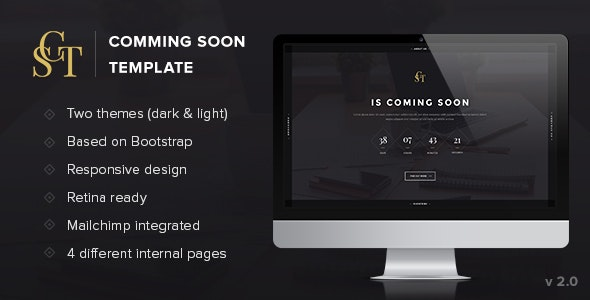 CST - Creative Coming Soon Template - Under Construction Specialty Pages