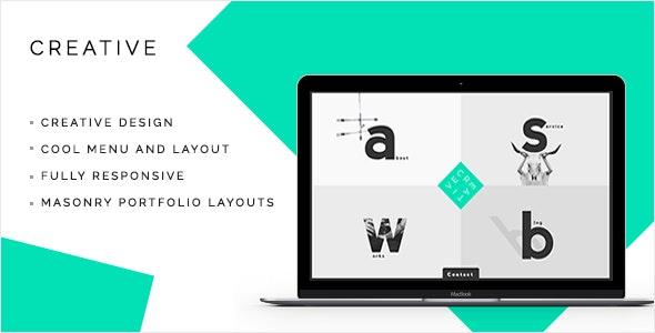 Creative - Portfolio & Agency WordPress Theme - Creative WordPress