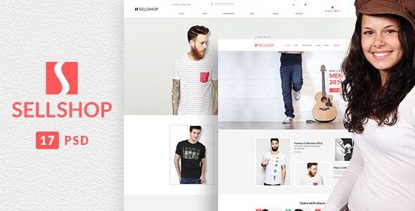 SellShop - eCOMMERCE PSD Template - Fashion Retail