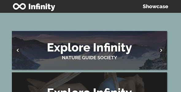 Infinity UI Kit - Showcase - Sketch