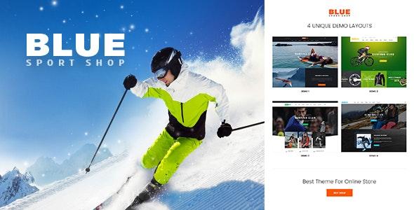 BlueSport - Responsive Prestashop Theme for Sport Store - PrestaShop eCommerce