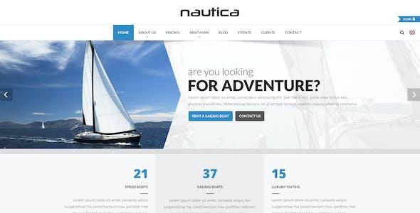 Nautica - Rental Services PSD Template