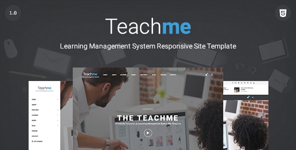 Teachme | Responsive Learning Management System, Education, University Site Template - Corporate Site Templates