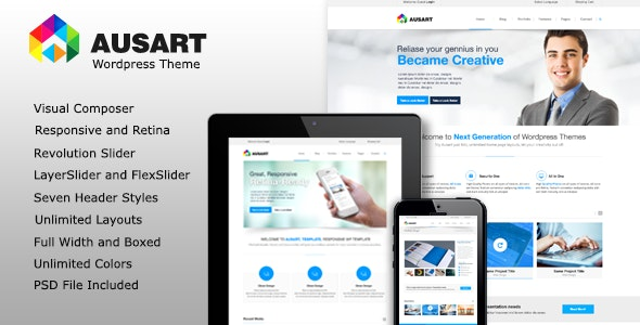 Ausart - Multi-Purpose Business Theme - Business Corporate