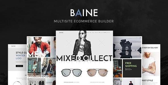 Baine | Responsive Multipurpose WooCommerce Theme - WooCommerce eCommerce