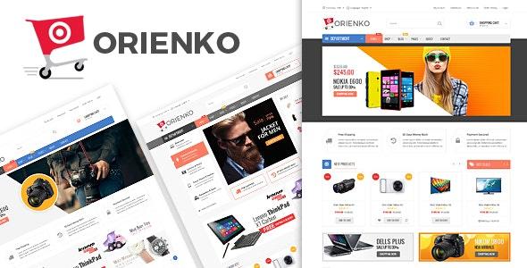 ORIENKO - Ecommerce PSD Template - Retail PSD Templates