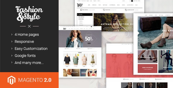 Ves Fashion - Responsive Multipurpose Magento 2.2.x & 1 Theme - Fashion Magento