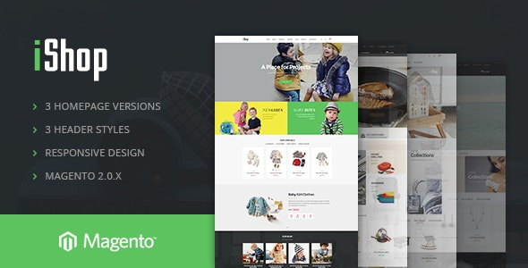 Ves iShop Magento 2.2.x Responsive Template - Shopping Magento