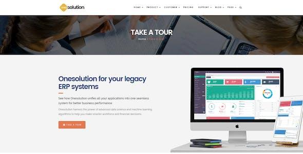 OneSolution - Application Showcase WordPress Theme
