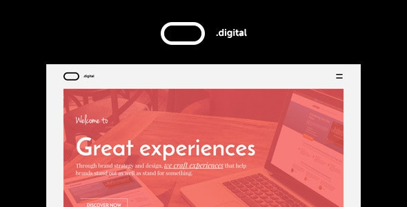 O Digital - Creative Portfolio Muse Template - Creative Muse Templates