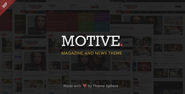 Motive - News Magazine by ThemeSphere | ThemeForest