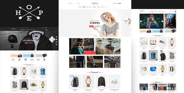 Hope- Responsive Shopify Theme - Fashion Shopify