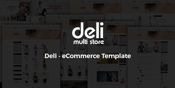Deli - Fashion HTML Template - Fashion Retail