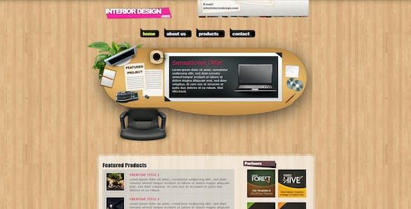 Interior Design Creative Portfolio XHTML Template