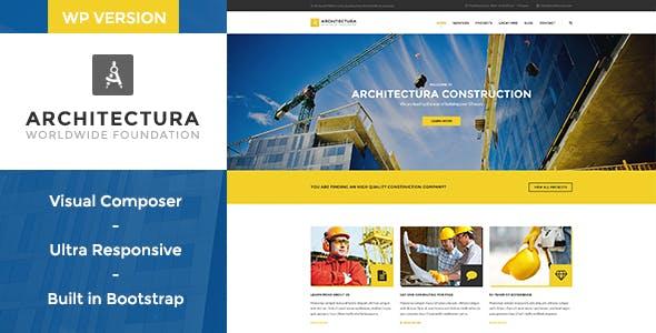 Architectura - Construction & Building WP Theme