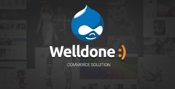 Welldone - Drupal 7 Commerce Theme - Retail Drupal